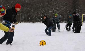 Домбайский футбол