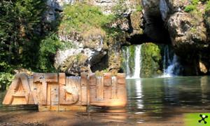 Вотерлайн на водопаде Атыш